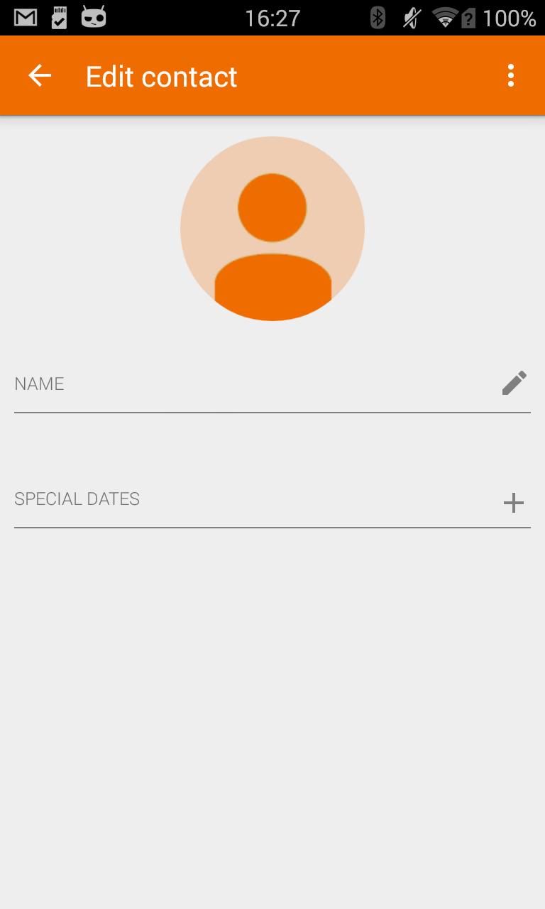 Birthdays Notifier Screenshot 2