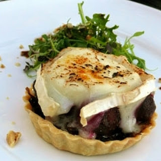 Baby Beetroot And Goats' Cheese Tart