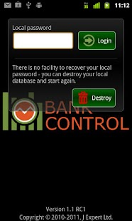 Bank Control UK Mobile Banking - screenshot thumbnail