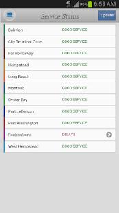 LIRR TrainTime - screenshot thumbnail