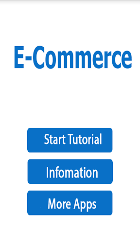 Learn E-Commerce Tutorial