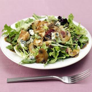 Golden Chicken, Mushroom & Onion Salad.