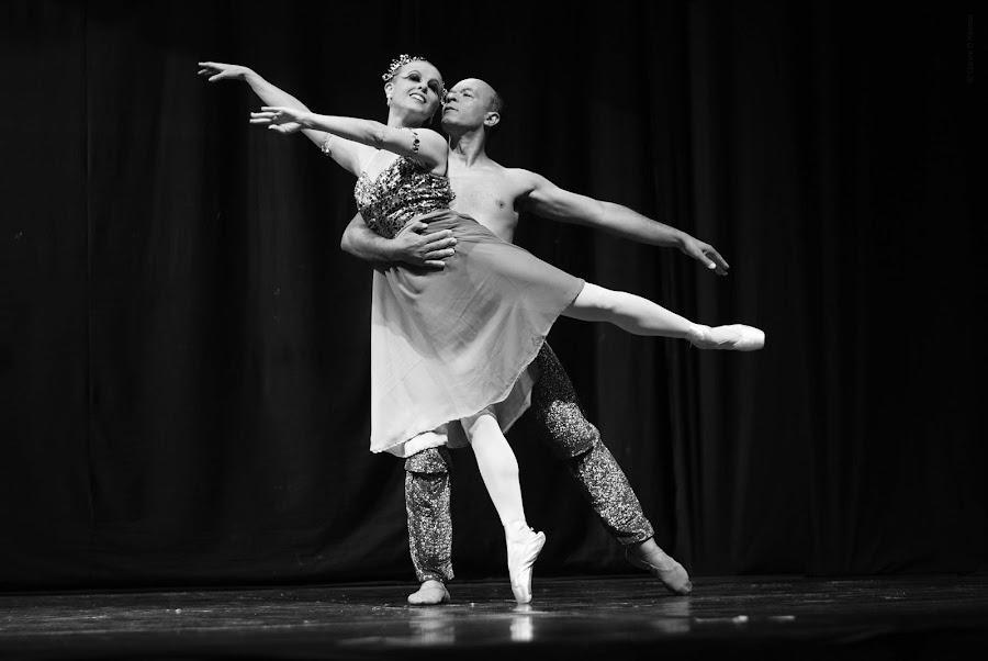 Ballet by Clarice Clicks - Sports & Fitness Other Sports ( #bw, black & white, #ballet )