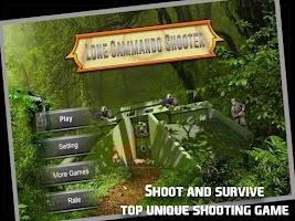 Screenshot of Lone Commando Survivor Shooter