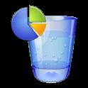 水摂取トラッカー無料 icon
