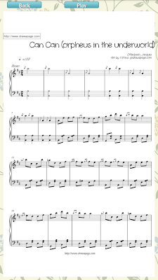 VRONS piano sheet music - screenshot