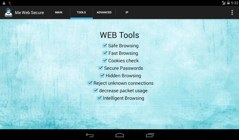 Me Web Secure Pro - screenshot