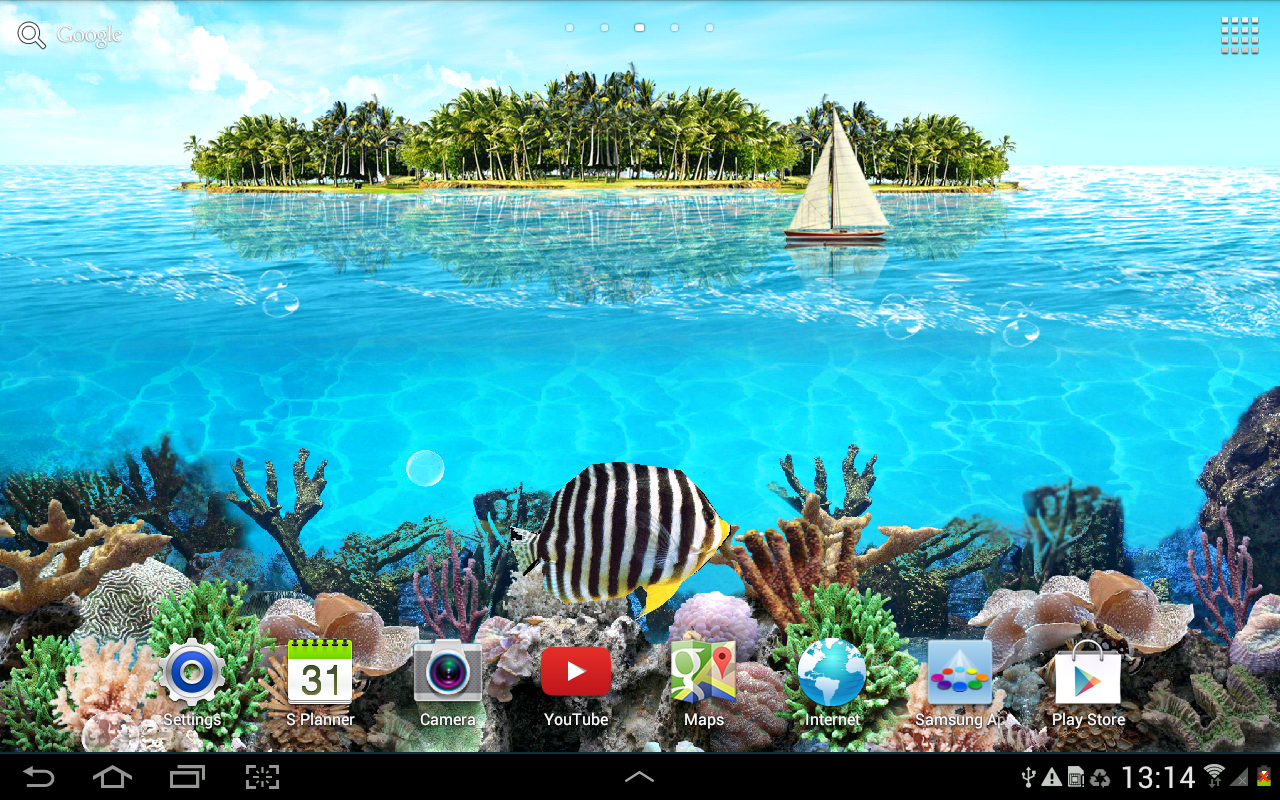 Tropical Island Beach Ambience Sound: Tropical Ocean Wallpaper Lite