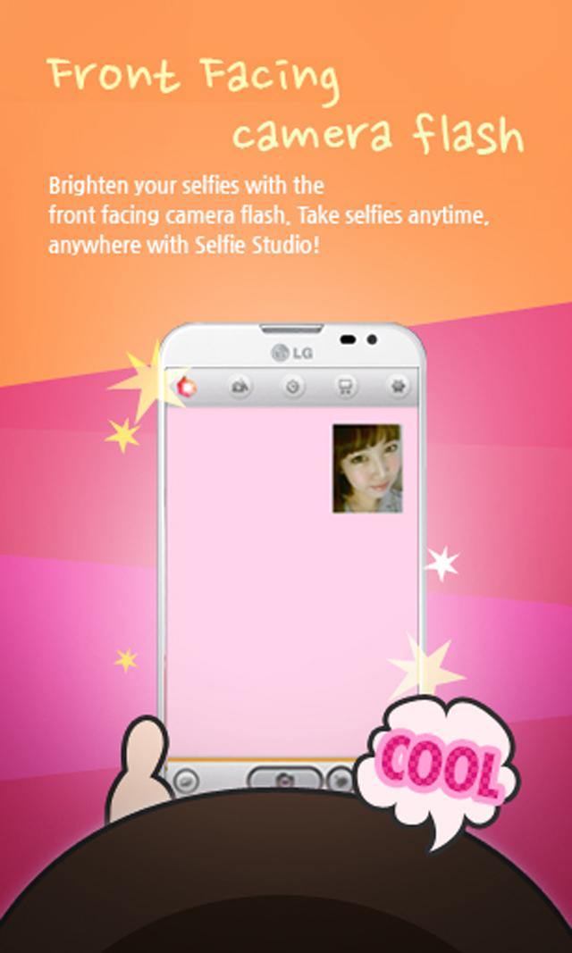 Selfie Studio: Flash Camera screenshot #1