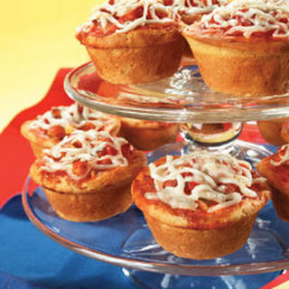 Veggie Pizza Cupcakes.