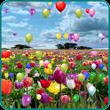 Blue Skies balloon LWP Pro icon