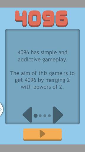 4096 - 数字のパズルゲーム