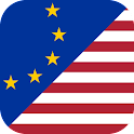 Euro to US Dollar logo