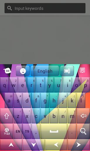 彩色键盘主题