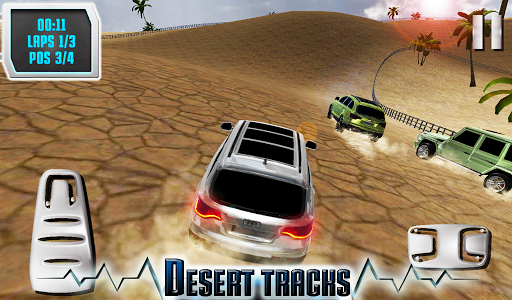 SUV Desert Road Racing 3D Full