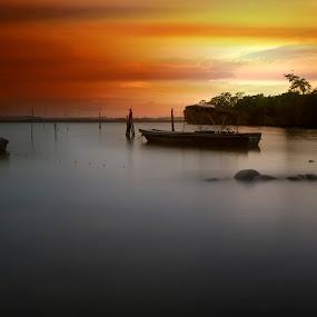 by Mohamad Sa'at Haji Mokim - Landscapes Sunsets & Sunrises