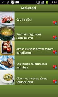 Mit főzzek ma? Receptajánló.- screenshot thumbnail