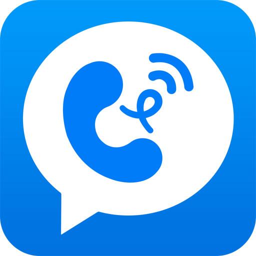 蜂加-全球免費電話、多人語音會議 通訊 App LOGO-硬是要APP