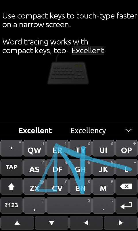 Ultra Keyboard- screenshot