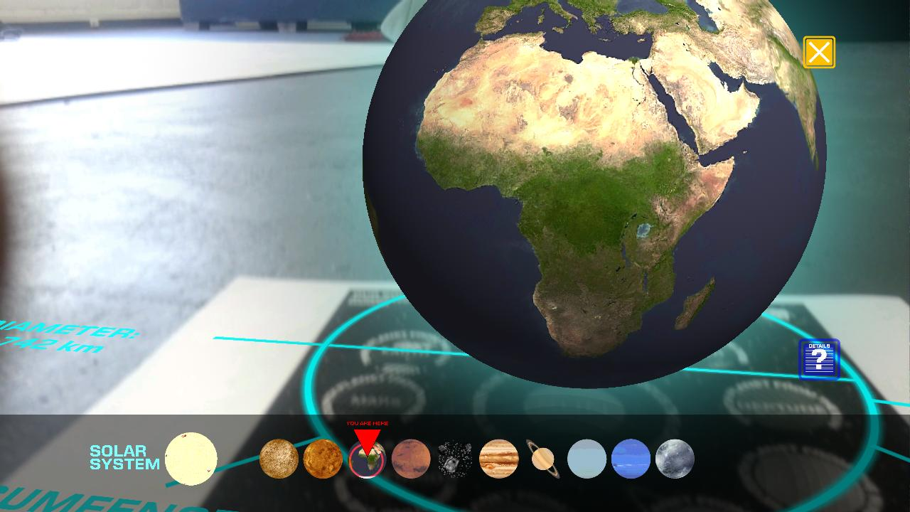 Our Solar System AR - Android Apps on Google Play