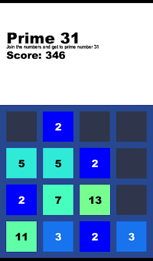 Prime 31 - Number Puzzle Game