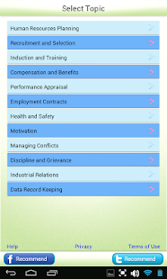 MBA Human Resources Learn Test- screenshot thumbnail