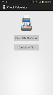 Check Calculator- screenshot thumbnail