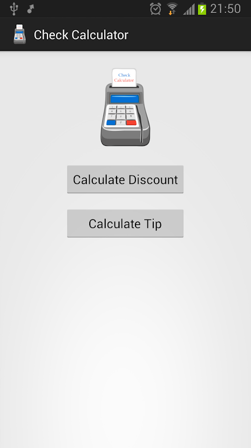 Check Calculator- screenshot