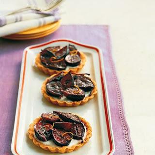 Roasted Fig Tartlets