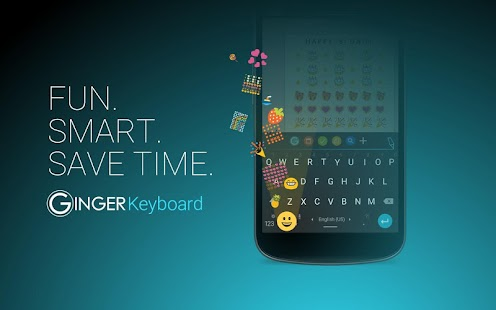 Ginger Keyboard: Emoji, Themes - screenshot thumbnail