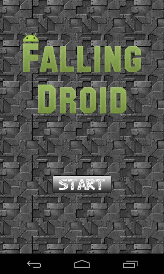 Falling Droid - screenshot