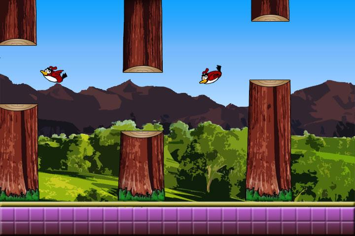 Clumsy Birds Reverse- screenshot