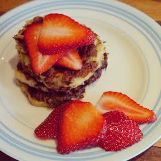 Porridge Oat Pancakes.