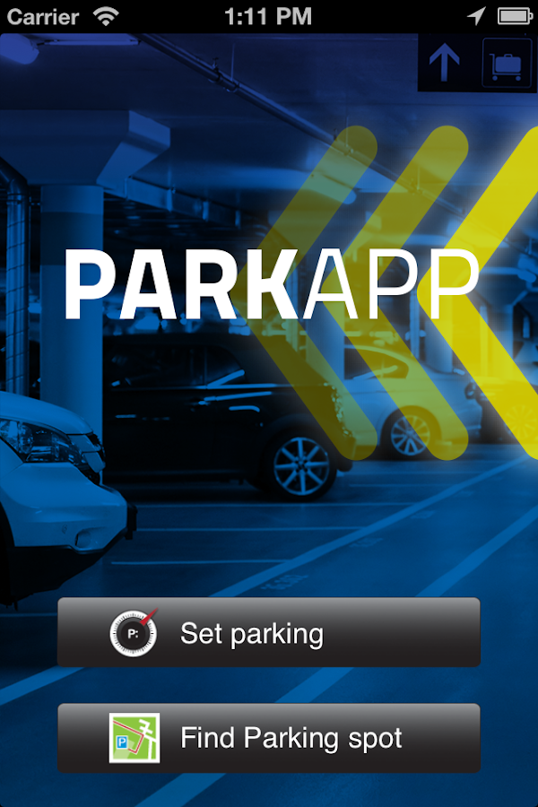 PARKAPP - screenshot