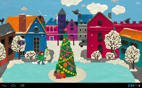 KM Winter town Live wallpaper v1.0.11