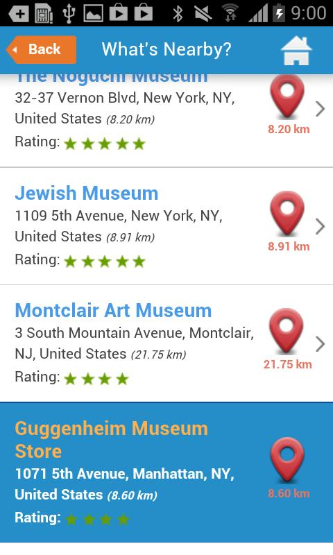 NYC Guide New York Map Weather - screenshot