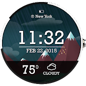 Weather Scenery Watch Face