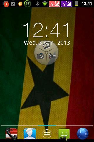Ghanaian flag livewallpaper