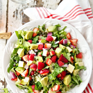 Strawberry, Avocado & Asiago Spring Salad