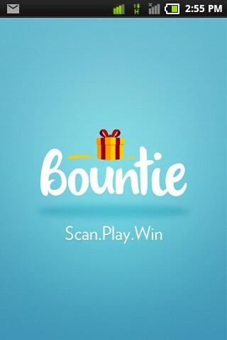 Bountie - Scan.Play.Win - screenshot