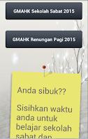 Screenshot of GMAHK - Sekolah Sabat