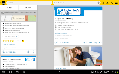 Yellow Pages® Australia- screenshot thumbnail