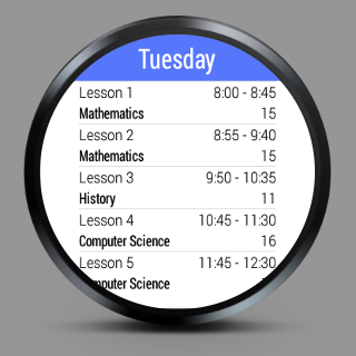 Class Time - Timetable- screenshot