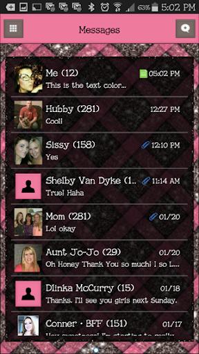 GO SMS THEME - EQ6