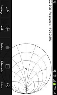Smith Chart Matching Calc - screenshot thumbnail