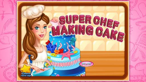 Super chef - making cake