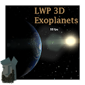 LWP 3D Planeta desconocido icon