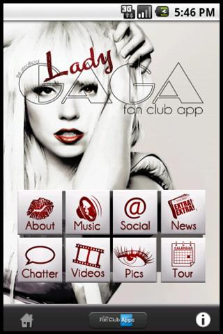 Lady Gaga Fan Club(unofficial) - screenshot
