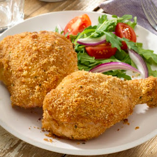Balsamic Italian Oven-Fried Chicken.