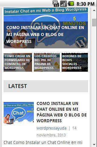 Wordpress Ayuda
